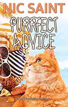 Purrfect Advice (The Mysteries of Max Book 22) by [Nic Saint]