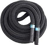 Blackthorn Battle Rope, Corde ondulatoire, Corde Entrainement, Corde d'oscillation, Rope Crossfit, Ø 30mm, 10m