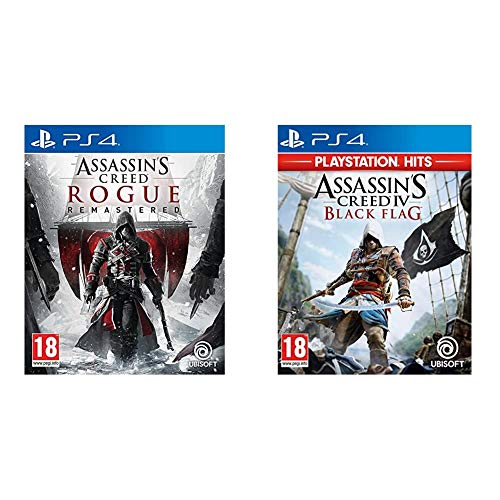 UBISOFT Assassin's Creed: Rogue Remastered + Assassin'S Creed 4: Black Flag