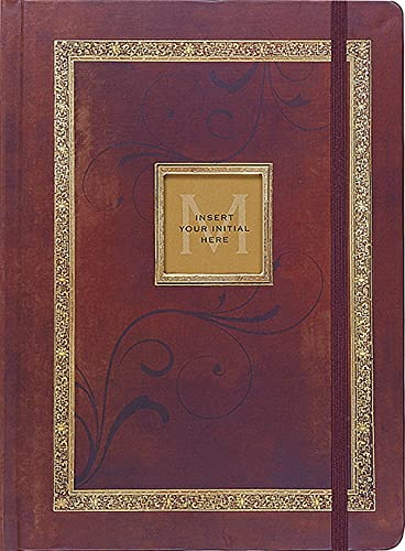 Antique Monogram Journal (Diary, Notebook)