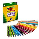 Crayola Colored Pencils Art Tools 50 Count Perfect for Art Projects and Adult Coloring
