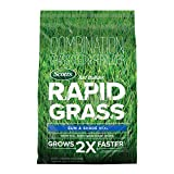 Scotts Turf Builder Rapid Grass Sun & Shade Mix: up to 8,000 sq. ft.,...