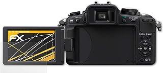 atFoliX Skärmskydd är kompatibel med Panasonic Lumix DMC-G2 Skyddsfilm, antireflekterande och stötdämpande FX Film (3X)