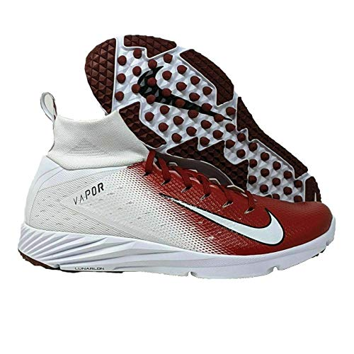 Nike Vapor Untouchable Speed Turf 2 Men's Crimson-White Football Shoes 13 US