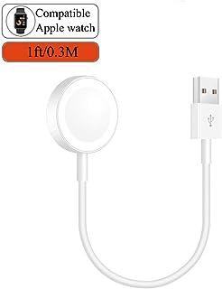 Apple watch充電ケーブル アップルウォッチ充電 長さ0.3M serirs1/2/3/4に対応 最新バージョンに対応 携帯しやすい