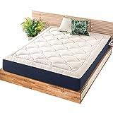 Mellow 10 Inch Marshmallow Mattress - Plush Memory Foam Pillow Top, OEKO-TEX and CertiPUR-US Certified, Full