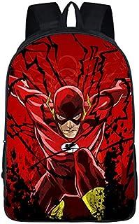 XWXBB The Flash - Mochila infantil, impermeable, resistente a la suciedad, gran mochila con figuras de cómic, mochila para...