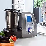 Cecomix C04010 Robot de cocina multifunción, 1500 W, 3.3 litros, PU|Acero Inoxidable, Plata