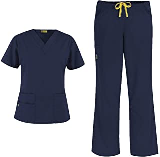 Origins Women's 6016 Bravo Top & 5026 Romeo Pant Scrub Set
