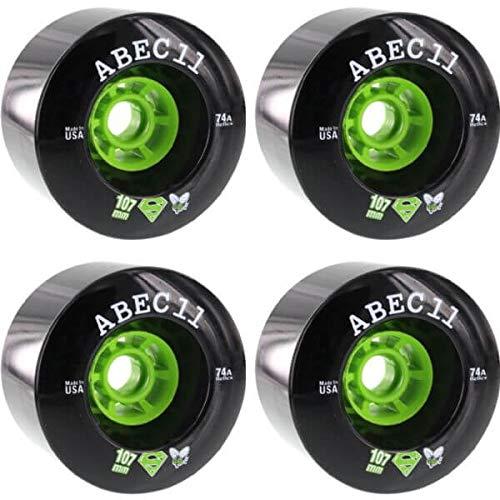 ABEC 11 SuperFly Black Longboard Skateboard Wheels