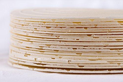30 Stück Oblaten ohne Füllung und Zucker Ø 18 cm