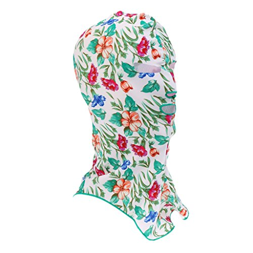 Facekini - Gesicht Bikini, Voll Gesicht UV-Schutz Schwimmen Maske Kopf Und Hals Schutz Haube, Sonnenschutz Outdoor Strand Aktivitäten, Wassersport - Stil # 2