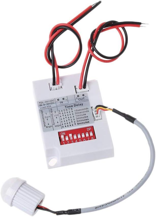 PIR Motion Sensor Switch TDL-2012 Infrared IR Det Induction Reservation Body Atlanta Mall