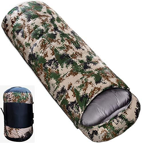 JUYEE 寝袋 ダウン シュラフ 冬用 封筒型 2.7kg 【最低温度-25℃】 丸洗い 軽量 洗える 車中泊 冬 キャンプ 収納袋付き