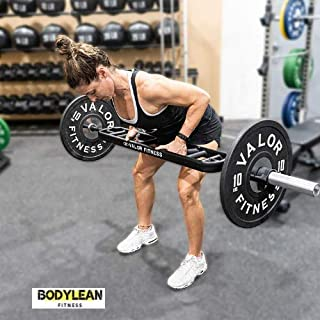 BODYLEAN Olympic Multi Grip Barbell - Fits with Olympic Weight Plates - Tricep BarbellOlympic Tricep BarSwiss Bar