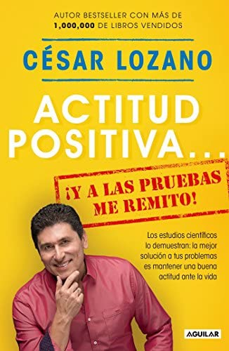 Actitud positiva y a las pruebas me remito A Positive Attitude I Rest My Case Spanish Edition product image