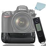 Meike MK-DR750 MB-D16 y e-readers de 2,4 G control inal¨¢mbrico empu?adura de bater¨ªa para c¨¢mara r¨¦flex digital EN-EL15 Nikon D750 + l¨¢piz limpiador de Mcoplus