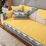 Fsogasilttlv Fundas Sofa Protector Lavable Amarillo, Toalla de...