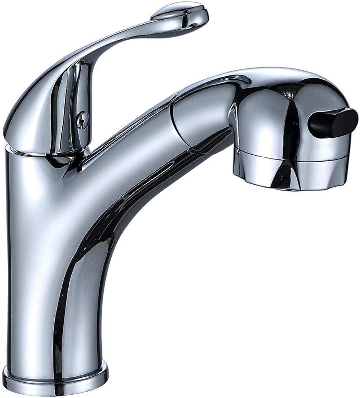 Cxmm Trinkwasserfilter Wasserhahn Edelstahl Touch On Kitchen Sink Luftreiniger Wasserhahn High-Arc Einhand-Badarmatur mit Ablaufgarnitur, teilweise Kupfer