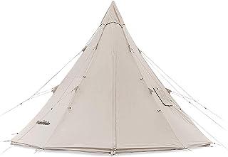 Naturehike ワンポールテント 綿布テント コットン仕様 防水綿のキャンバスの家族のキャンプテント キャンプ 4シーズンコットンベルテント