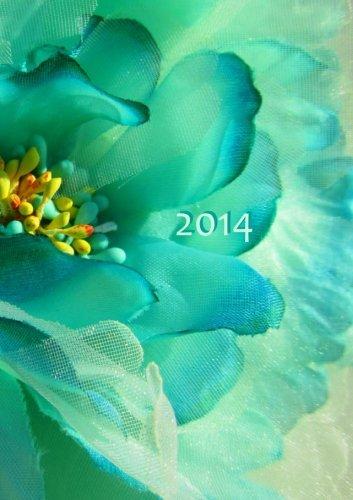 Kalender 2014 - Flower Power: DIN A 5, 1 Woche auf 2 Seiten, Platz für Adressen und Notizen