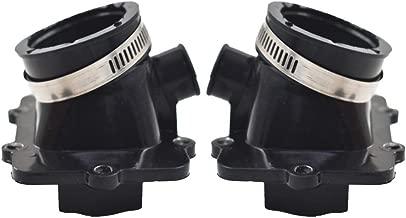 WFLNHB 2pcs Carburetor Carb Intake Manifold Boot 420867882 Fit for Ski-Doo 600 500 420867880
