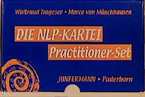 Die NLP-Kartei. Practitioner-Set.: 210 Karten in stabiler Box