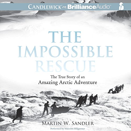 The Impossible Rescue audiobook cover art