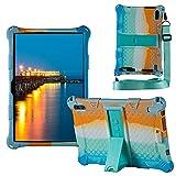 YHFZR Custodia Cover per ZONMAI MX2 Tablet 10.1 Pollici, Ultra Leggero Protettiva Cover in Silicone con...