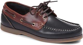Jones Bootmaker Hommes Chaussure Bateau en Cuir À Lacets