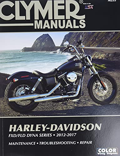 Clymer Manuals Harley-Davidson: FXDB /FLD DYNA Series- 2012-2017