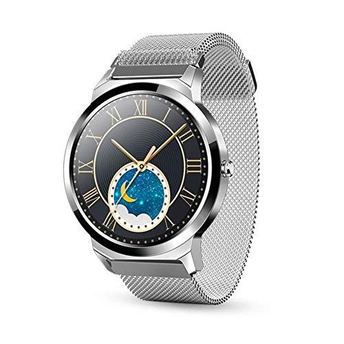 Exquisito, hermoso, decente, novedoso y único. Reloj inteligente, 1.28 pulgadas Táctil completo / redondo IP67 Hombres impermeables Mujeres Mujeres Smart Watch Información de negocios Recordatorio Mod