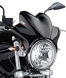 Saute Vent Puig Wave Noir pour Suzuki Bandit 600/1200, GN 125/250, GS 500/ E, GSX 750/1200/ 1400, SV 650/1000, TU 250 X Volty, VX 800