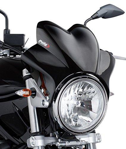 Cockpitverkleidung Puig Wave schwarz für Moto Guzzi V7/ Cafe Classic/Classic/Racer/Special, V11 Sport mit ABE