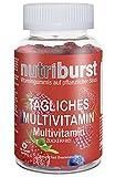 NUTRIBURST   Multivitamine Gesundheit & Vitalität Gummi-Vitamine C B5 B6 B12, D   Pflanzliches,...