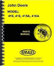 Best john deere 415 manual Reviews