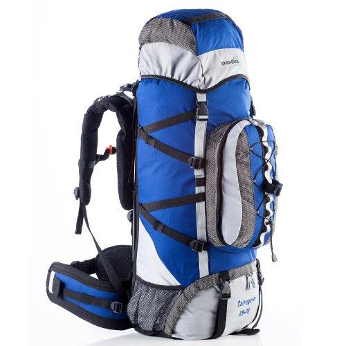 skandika Cairngorm 85+10 Sac à Dos Trekking randonnée Marche Bleu