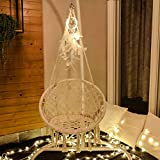X-cosrack Hammock Swing Chair with Dream Catcher for 2-16 Years Old Kids, Handmade Knitted Macrame Hanging Swing Chair for Indoor,Bedroom,Yard,Garden- 230 Pound Capacity (Stand and Chain not Included)