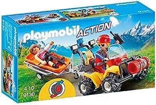 comprar comparacion Playmobil-9130 Quad de Rescate de Montaña (9130)