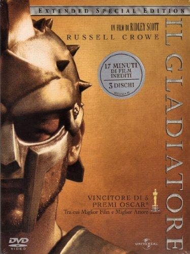 IL GLADIATORE - EXTENDED SPECIAL EDITION (3 DVD) FUORI CATALOGO