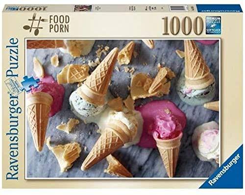 Ravensburger Puzzle I Scream for Ice Cream - 1000 Teile - Fotos & Landschaftspuzzle für Erwachsene