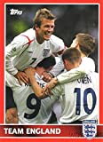 David Beckham 2005 Topps England Japan Exclusive Card #31 in MINT Condition! Rare Topps England Card of Legendary Worldwide Soccer Legend! Shipped in Ultra Pro Top Loader to Protect it!