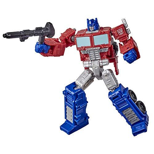 Transformers Generations War for Cybertron: Kingdom Core-Klasse WFC-K1 Optimus Prime Figur – ab 8 Jahren, 8,5 cm