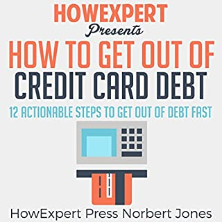 How to Get out of Credit Card Debt audiobook cover art