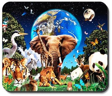 Animal Kingdom - Art Plates Brand Mouse Pad