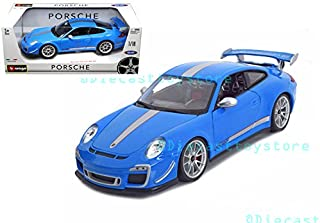 Bburago 1: 18 Porsche 911 GT3 Rs 4.0 Toy, Blue 18-11036BL