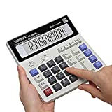 XINPENGFA Desktop Office Calculator 12 Digit Display and Big Button, Basic Business Calculator