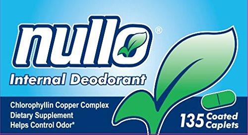Nullo Internal Deodorant (135 Caplets)