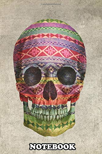 Notebook: Navajo Skull , Journal for Writing, College Ruled Size 6' x 9', 110 Pages