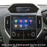 INTGET Navigation Screen Protector for Subaru Impreza Crosstrek Forester Ascent Accessories 2019 2020 2021 Anti Scratch Tempered Glass Center Touch Display Screen Protective Film (8 INCH)